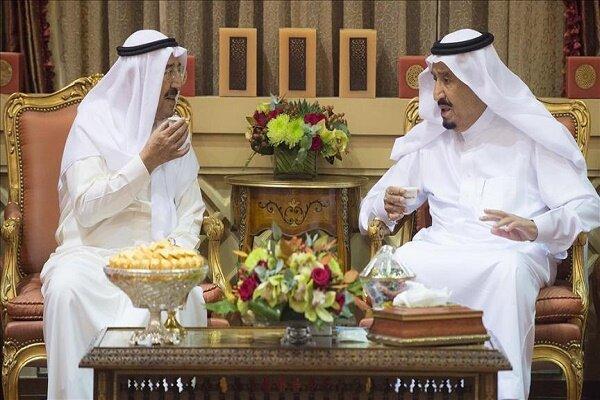 ارسال پیغام مکتوب ملک سلمان به امیر کویت