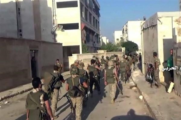 درگیری میان تروریست های مورد حمایت ترکیه در حلب
