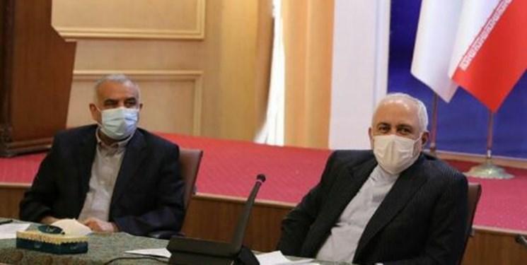 ملاقات جمعی از نمایندگان موسسات خیریه مردمی و گروه های جهادی با ظریف