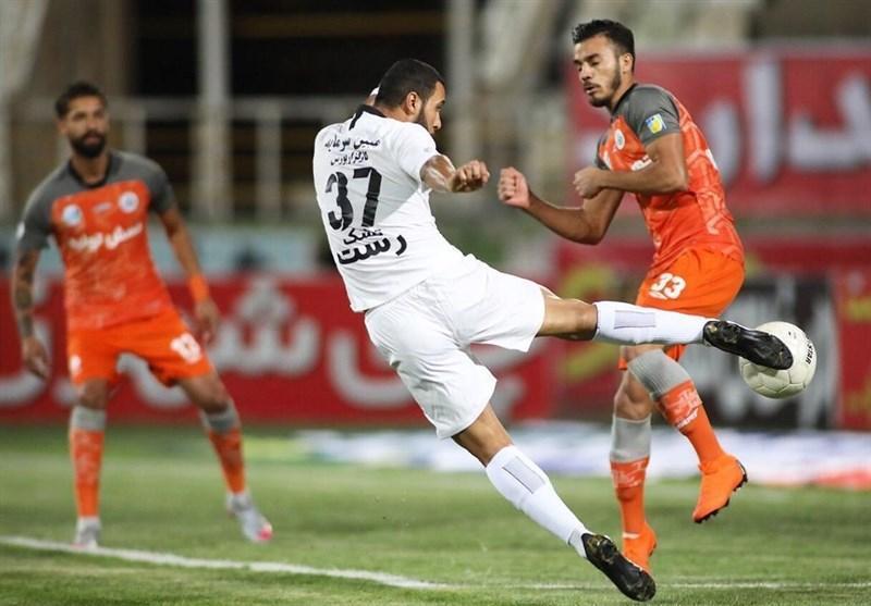 لیگ برتر فوتبال، تساوی یک نیمه ای سایپا و سپاهان، حضور اسکوچیچ و رخصت شفیعی از قلعه نویی
