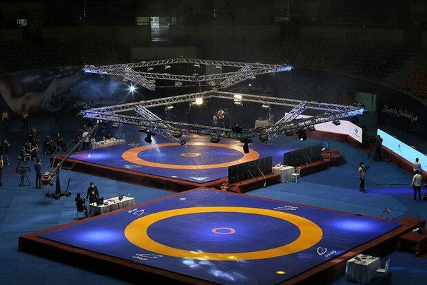 انتخاب فرنگی کاران خوزستان برای مسابقات کشتی قهرمانی جهان