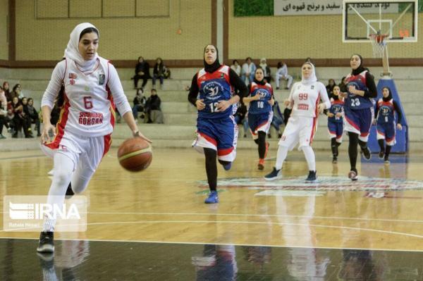 خبرنگاران تکرار ناکامی مدافع عنوان قهرمانی در لیگ بسکتبال زنان